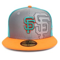 Bon� New Era 59FIFTY San Francisco Giants Green/Grey/Orange