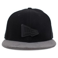 Bon� New Era 9FIFTY Strapback Logo Black/Grey