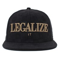 Bon� Cayler And Sons Legalize It Black Suede/Gold