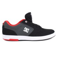 Tênis DC Shoes Nyjah Huston Black / Grey / Red