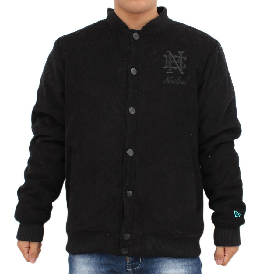 Jaqueta New Era Varsity All Black - NE