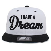 Bon� Starter Snapback I Have A Dream White/Black