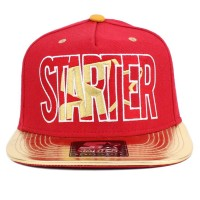 Bon� Starter Snapback Block Red/Gold
