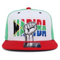Bon� Starter Snapback Madiba Green/White/Red