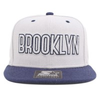 Bon� Starter Snapback Brooklyn Grey/Navy