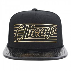 Bon� Starter Snapback Chicago City Black