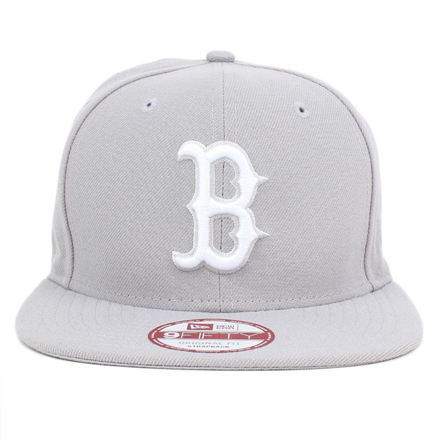 Boné New Era 9FIFTY Strapback Boston Red Sox Grey - MLB