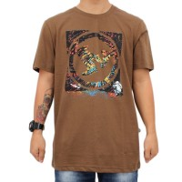 Camiseta New Policr The Wall Brown