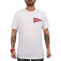 Camiseta Nike SB Stickers White