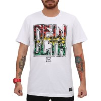 Camiseta New Interm Weed White