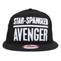 Bon� New Era Snapback Captain America Black/White