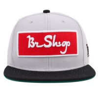 Bon� BR Shop Snapback Arabi Grey/Black