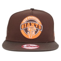 Bon� New Era Snapback San Francisco Giants Brown