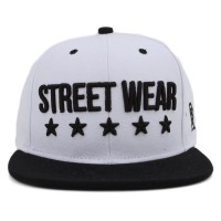 Bon� BR Shop Snapback Street Wear White/Black