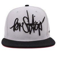 Bon� BR Shop Snapback Tag Grey/Black