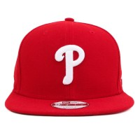 Bon� New Era 9Fifty Original Fit Strapback Philadelphia Phillies Red