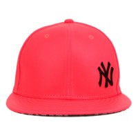 Bon� New Era 9Fifty Strapback New York Yankees Pink Flourishing