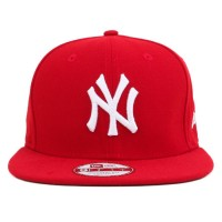 Bon� New Era 9Fifty Original Fit Strapback New York Yankees Red