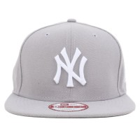 Bon� New Era 9Fifty Original Fit Strapback New York Yankees Grey