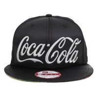 Bon� New Era 9FIFTY Strapback Coca Cola Black/Silver
