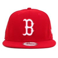Bon� New Era 9Fifty Original Fit Strapback Boston Red Sox Red