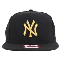 Bon� New Era 9Fifty Original Fit Strapback New York Yankees Black/Gold