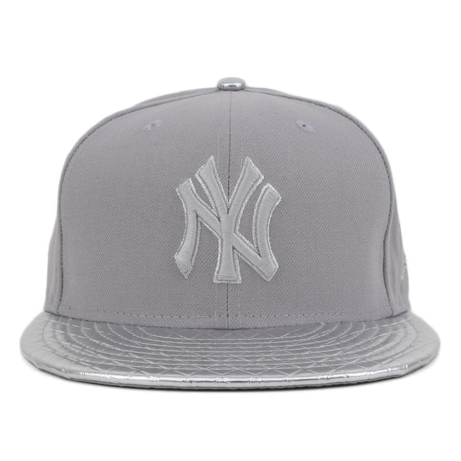 Boné New Era 9Fifty Strapback New York Yankees Grey / Silver - MLB