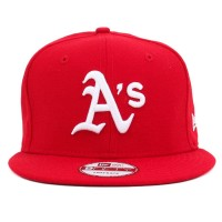 Bon� New Era 9Fifty Snapback Oakland Athletics Red