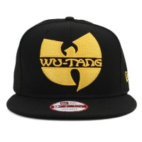 Bon� New Era 9Fifty Snapback Wu-Tang Logo Black