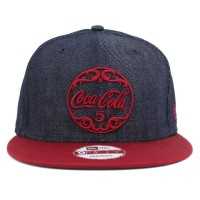 Bon� New Era 9Fifty Snapback Coca Cola 5 Jeans Navy/Wine