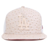 Bon� New Era 9Fifty Strapback Los Angeles Dodgers Beige/White