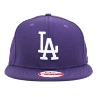 Bon� New Era 9Fifty Snapback Los Angeles Dodgers Purple