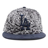 Bon� New Era 9Fifty Strapback Los Angeles Dodgers Printed/Navy