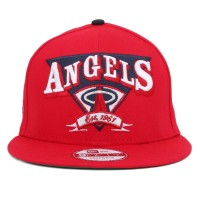 Bon� New Era 9Fifty Snapback Small-Medium Los Angeles Angels Red