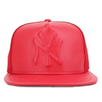 Bon� New Era 9Fifty Original Fit Strapback New York Yankees Red/Red