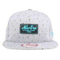 Bon� New Era 9Fifty Strapback Script Grey/Printed