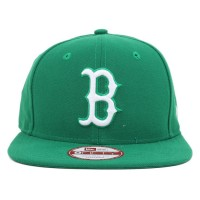 Bon� New Era 9Fifty Original Fit Strapback Boston Red Sox Green