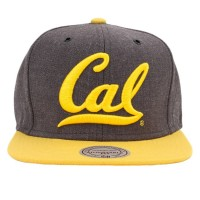 Bon� Mitchell and Ness Snapback California Golden Bear Grey/Yellow