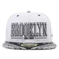 Bon� Skill Head Snapback Brooklyn Grey/Black Printed