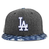 Bon� New Era 9FIFTY Snapback Los Angeles Dodgers Mescla/Printed