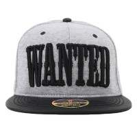 Bon� Skill Head Snapback Wanted Grey/Black
