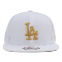 Bon� New Era 9FIFTY Original Fit Strapback Los Angeles Dodgers White/Gold