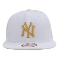 Bon� New Era 9FIFTY Original Fit Strapback New York Yankees White/Gold
