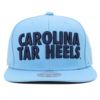 Bon� Mitchell and Ness Snapback Carolina Tar Heels Blue
