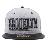 Bon� Skill Head Snapback Brooklyn Grey/Black