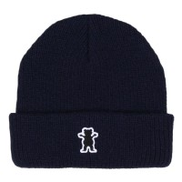 Gorro Grizzly OG Bear Patch Fold Beanie Navy
