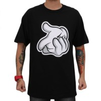 Camiseta Skill Head Hand Black