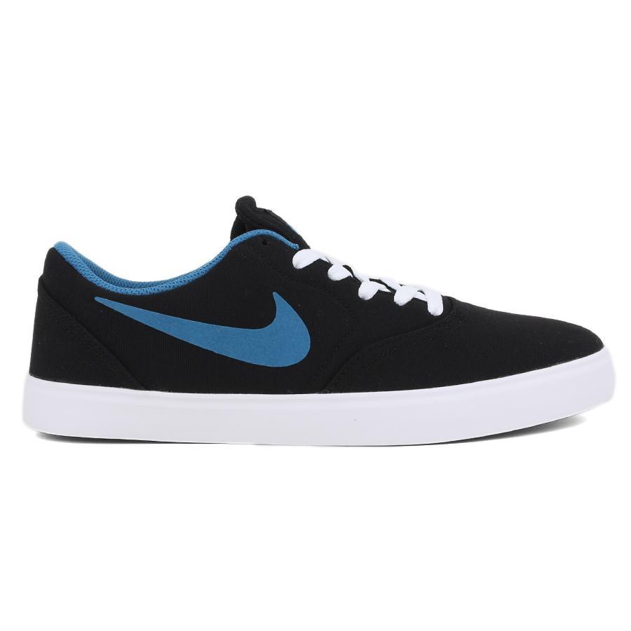 Tenis Nike SB Check CNVS Black / Brigade Blue White - Check CNVS