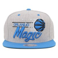 Bon� Mitchell and Ness Snapback Orlando Magic Grey/Blue