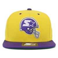 Bon� Starter Snapback Helmet Yellow/Purple